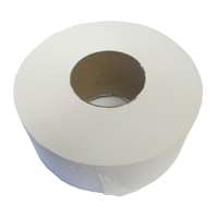 Image of White Toilet Paper